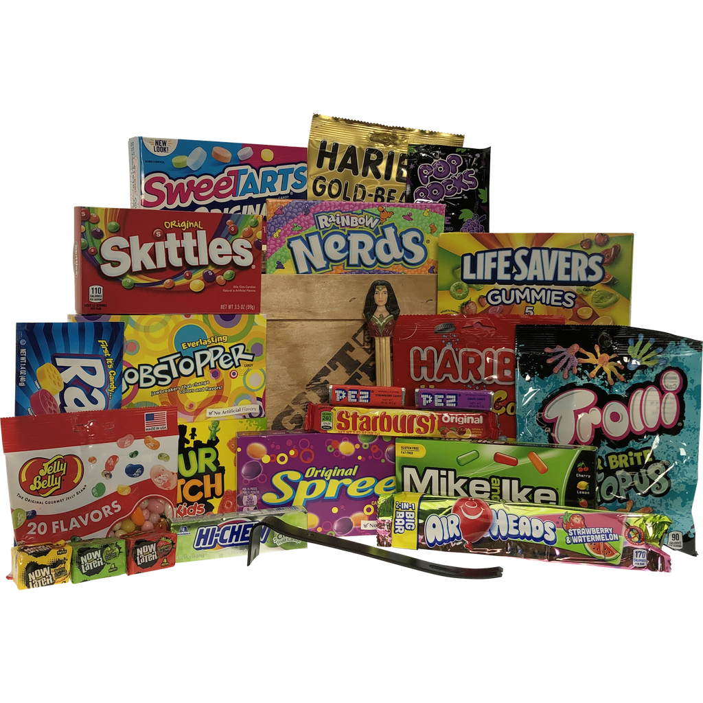 Candy Crazy Gift Crate