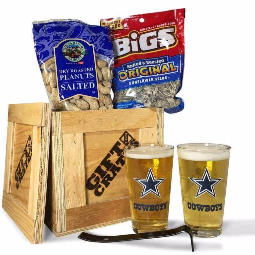 Dallas Cowboys Mini Barware Crate