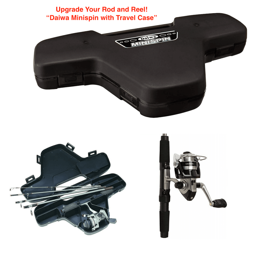 Upgrade Fishing Rod and Reel