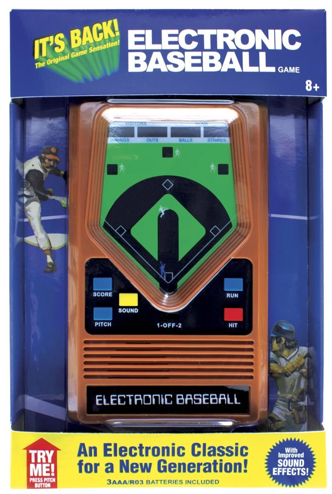 Electronic Baseball add to Baseball Crate