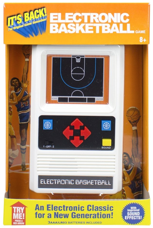 Electronic Basketball add to Old School Crate