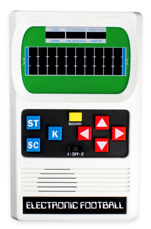 Electronic Football add to Football Crate