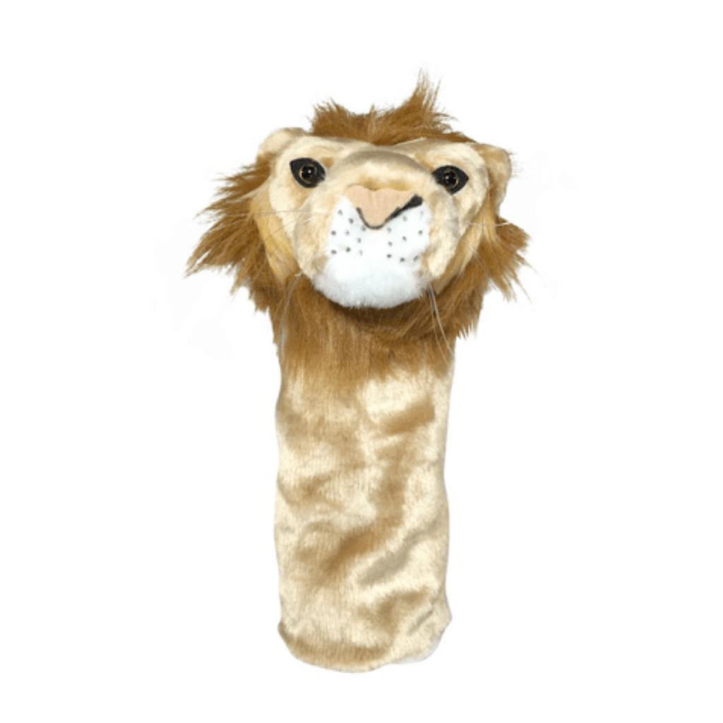 Lion golf club headcover