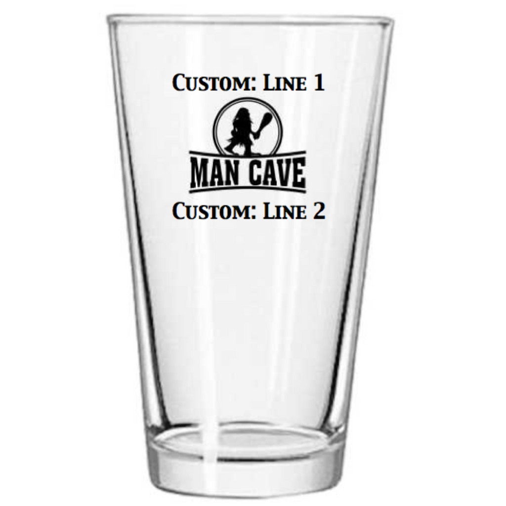 Man Cave Glass Template