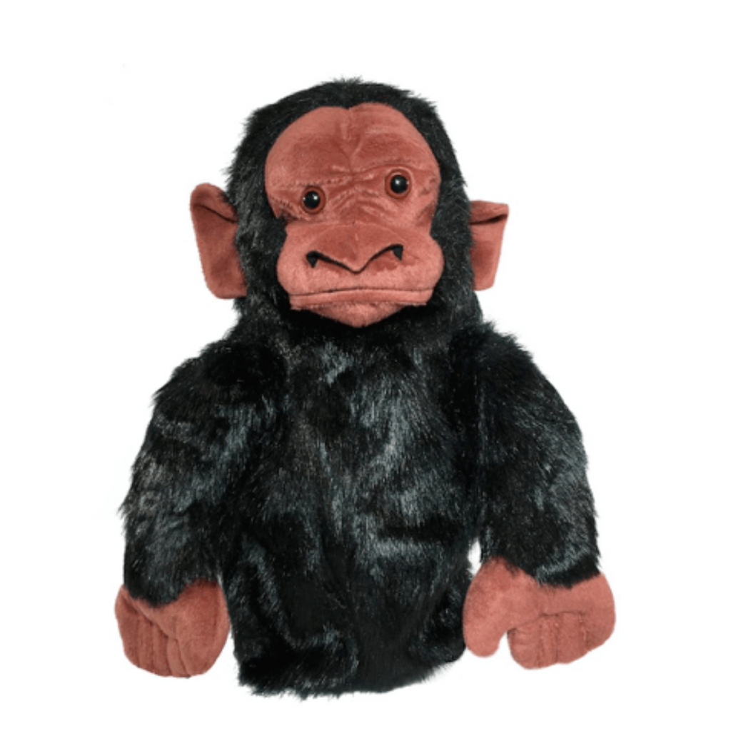 Monkey golf club headcover
