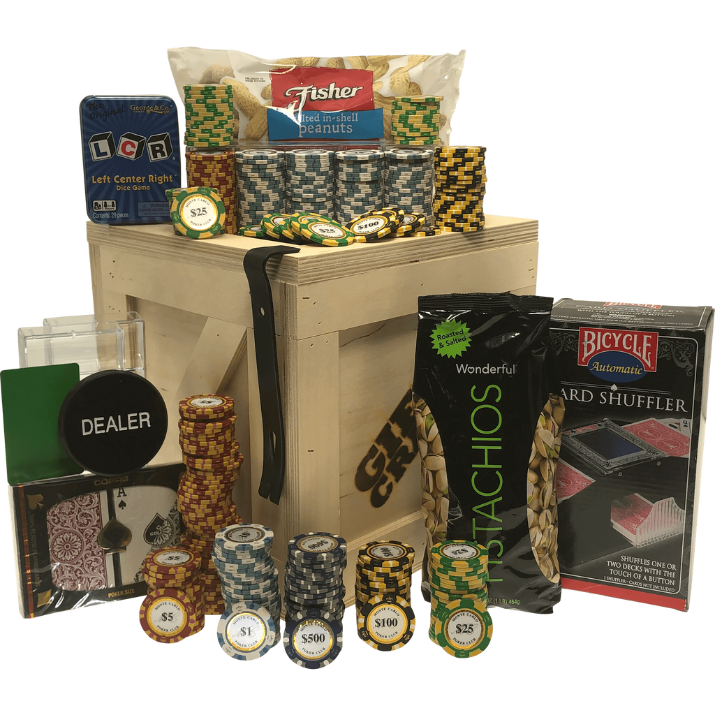 Poker Gift Crate