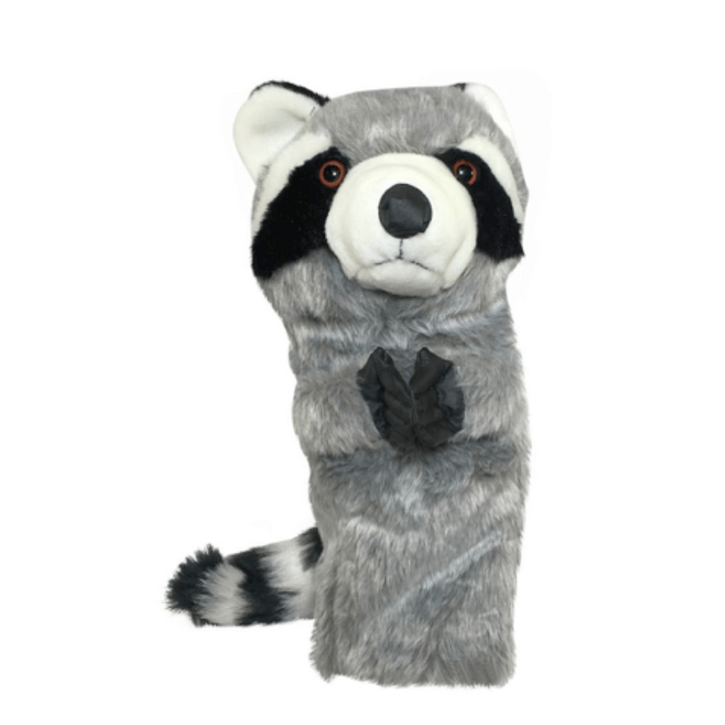Raccoon golf club headcover
