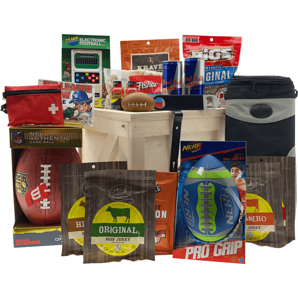 NFL Football Tailgate Gift Crate