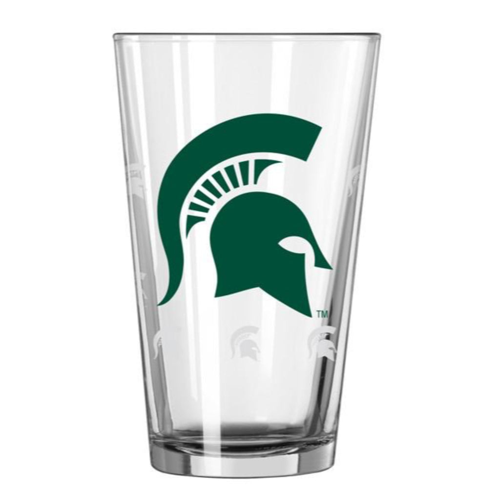 Michigan State Barware Crate