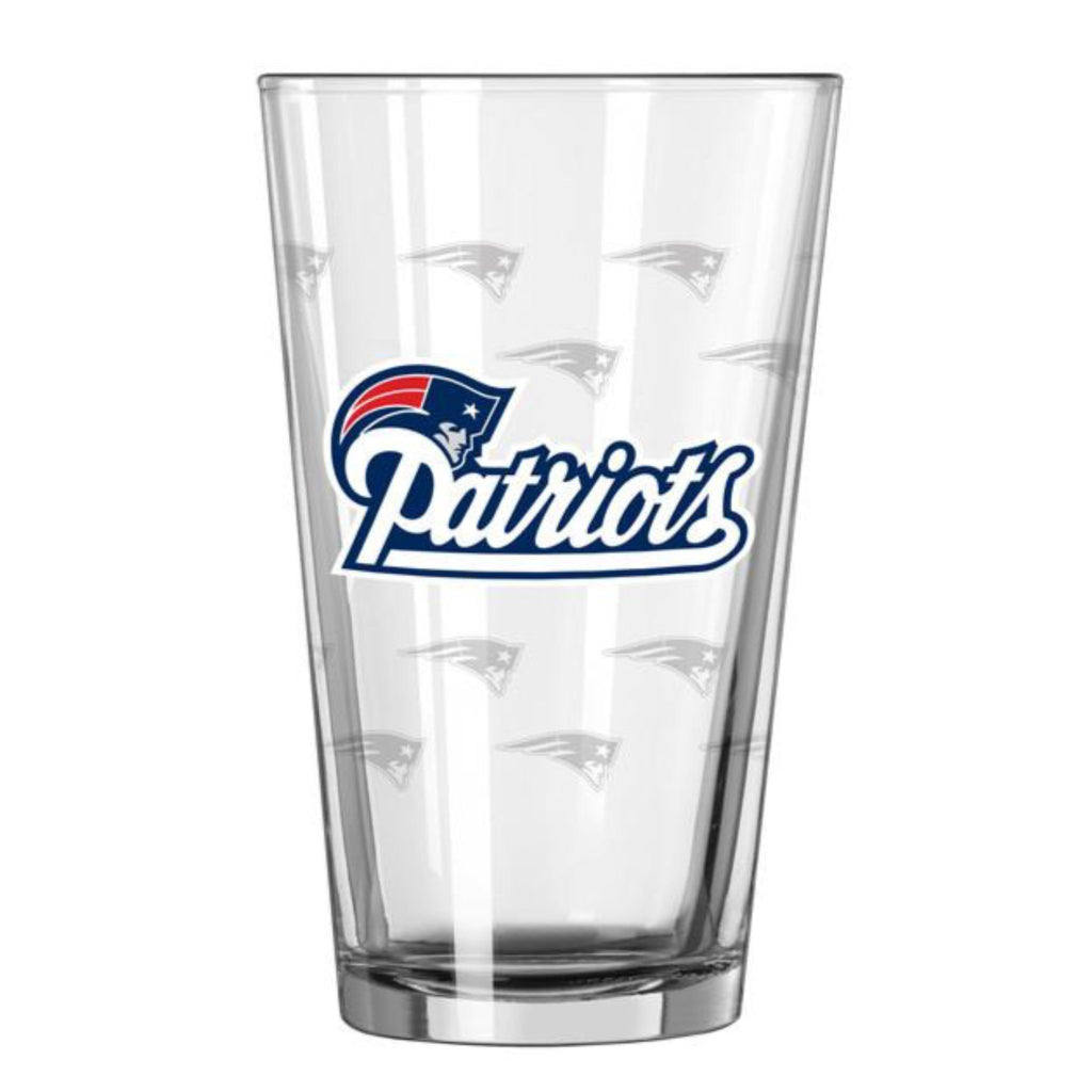 New England Patriots Barware Crate