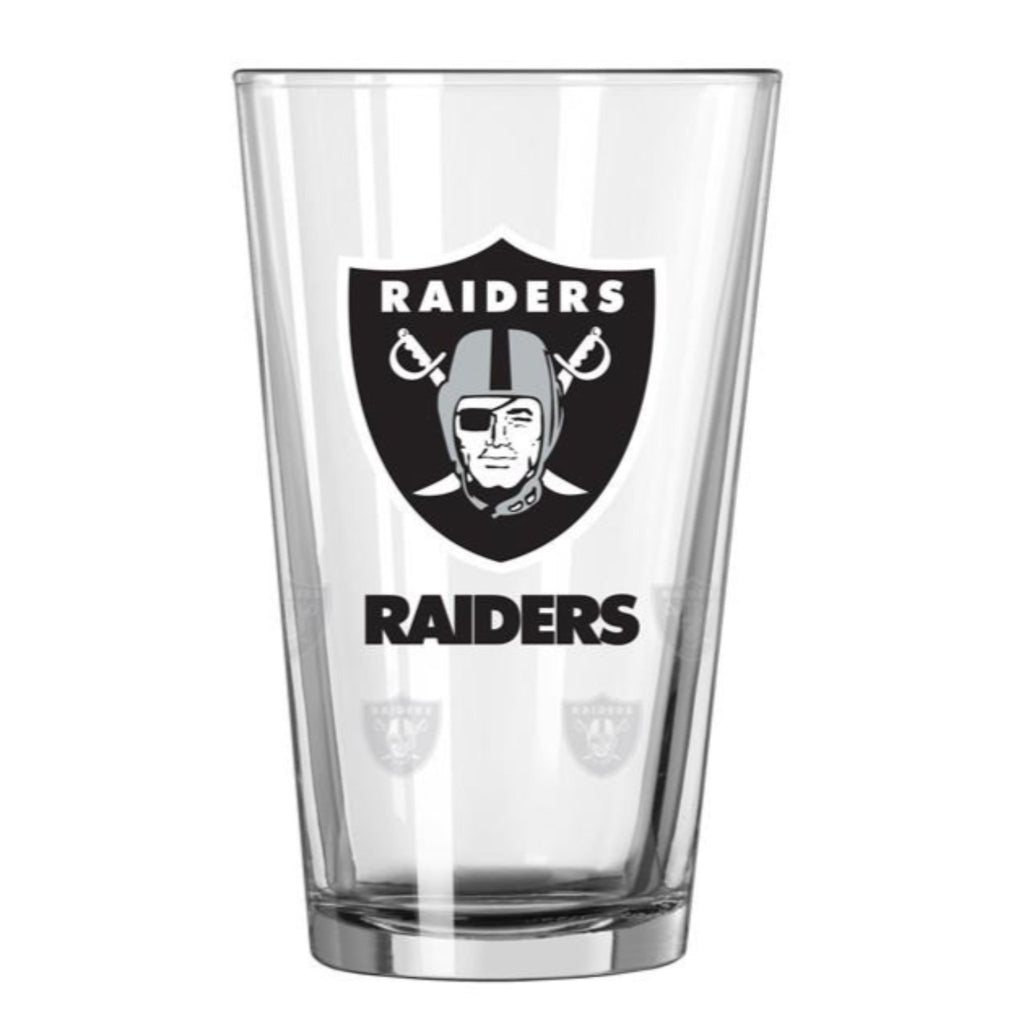 Oakland Raiders Barware Crate