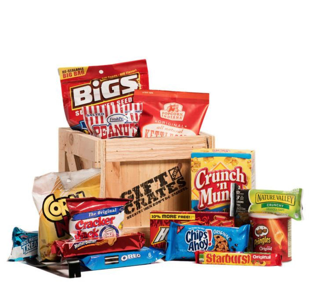 Snack Pack Gift Crate