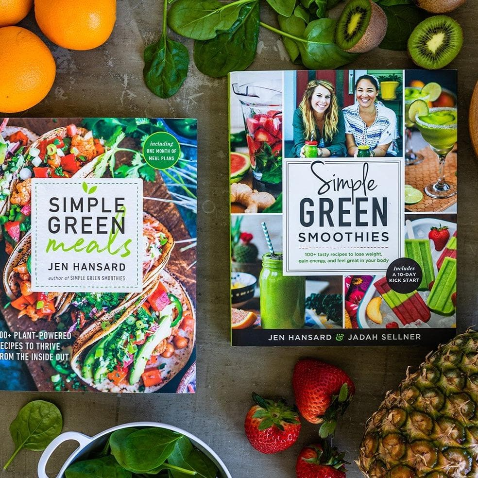 Simple Green Book Bundle (signed copies) - Rawkstar Smoothie Shop