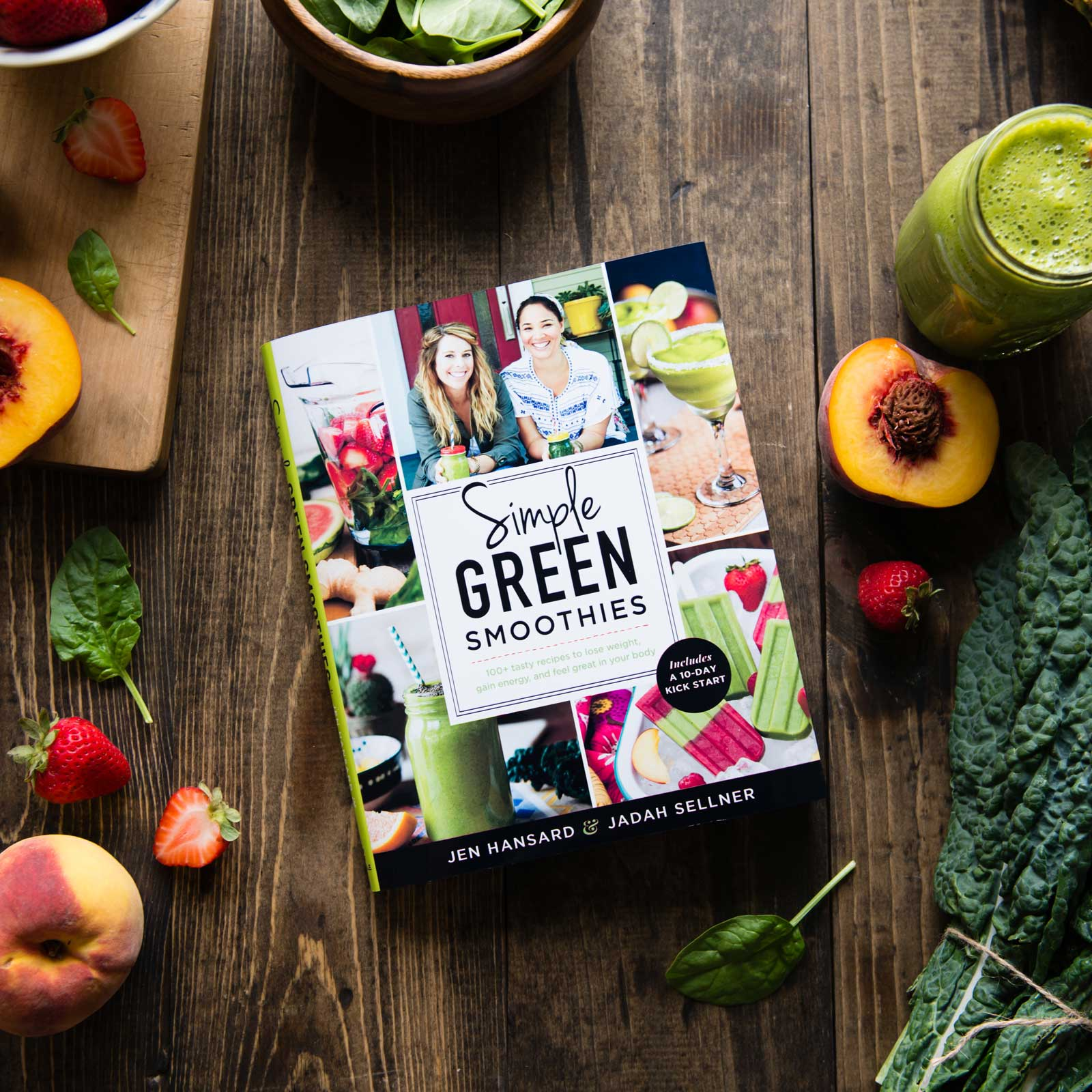 Simple Green Smoothies (signed copy) - Rawkstar Smoothie Shop