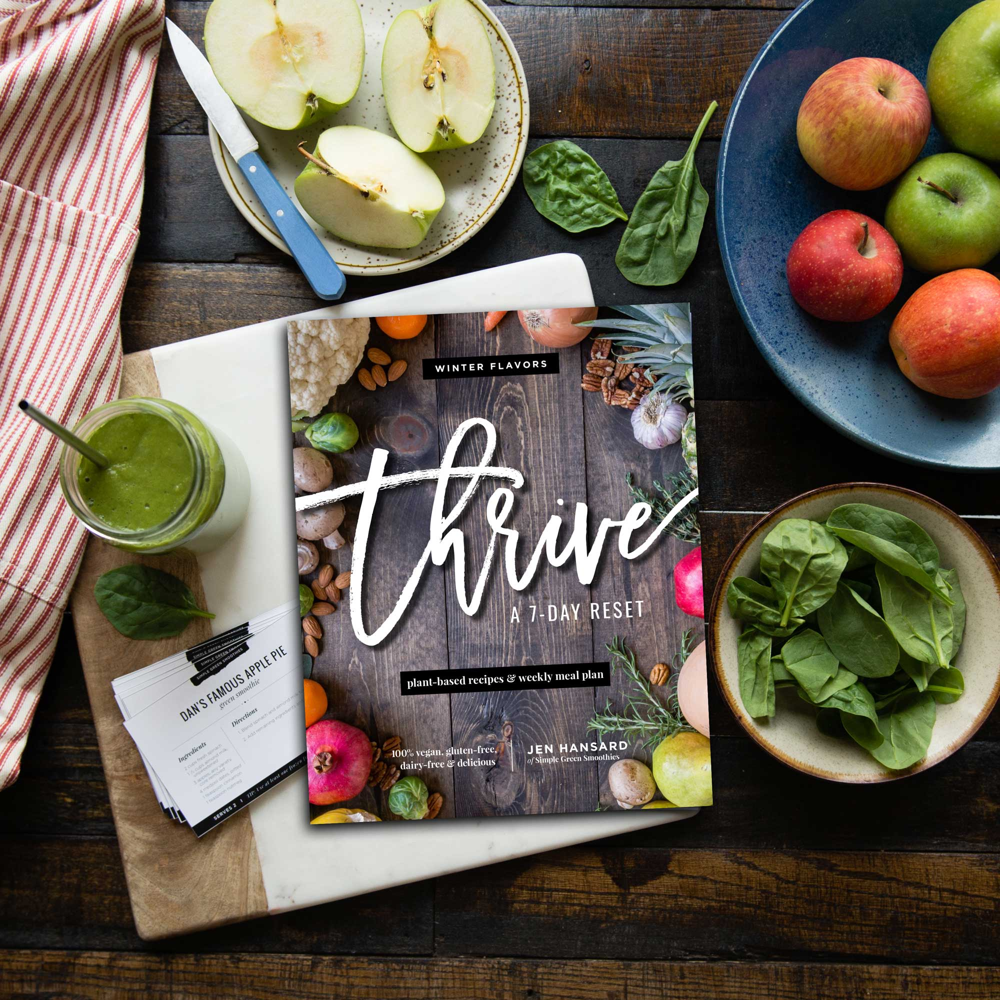 Thrive: A 7-Day Cleanse - Rawkstar Smoothie Shop