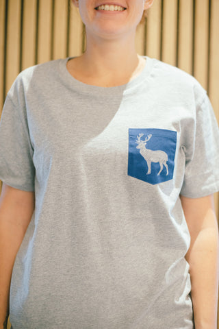 Barista Guild of Europe  T Shirt with pocket design (Stag)