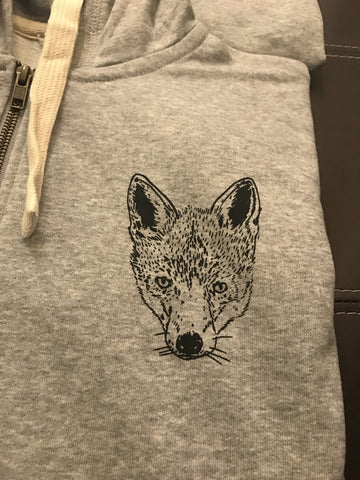 Barista Guild of Europe Grey Hoodie with Fox Design