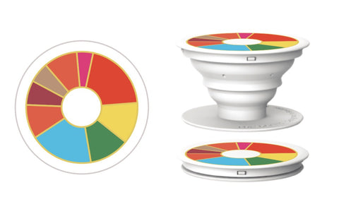 Flavor Wheel Pop Socket