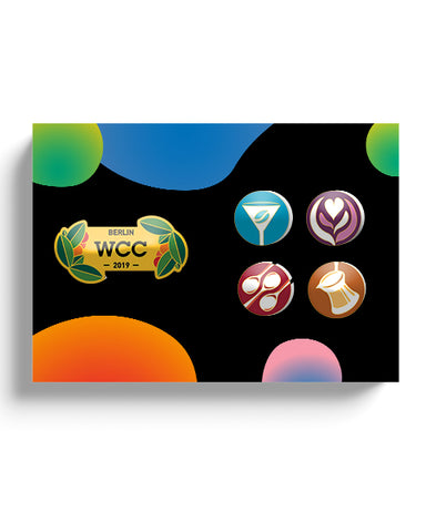 WCC Berlin Pin Set