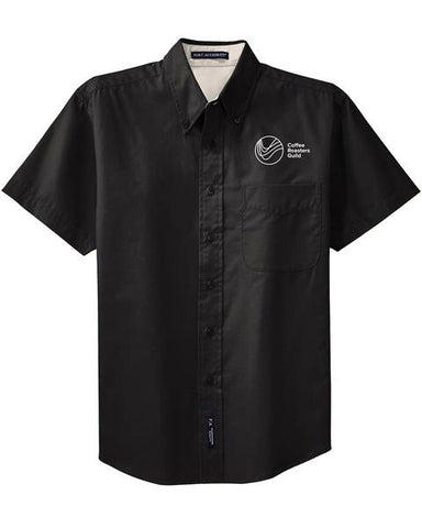 Coffee Roasters Guild Button Up Shirt
