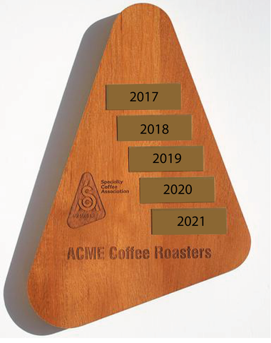 SCA Member Plaque - Customized