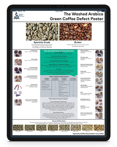 Green Arabica Coffee Classification System - English (Digital Version)