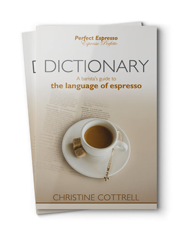 Book - Dictionary: A Barista's Guide