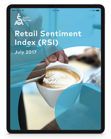 Specialty Coffee Retail Sentiment Index (RSI) July 2017 (Digital)