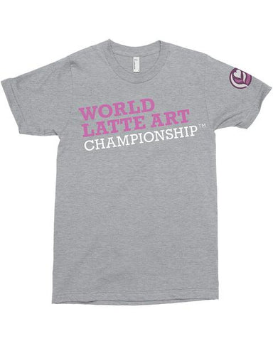 World Latte Art Championship Tee