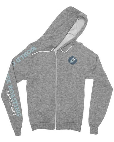 World Coffee Roasting Zip Hoodie