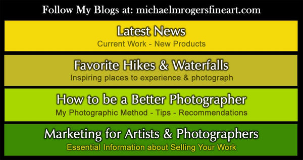 Michael's Blog Chart Categories