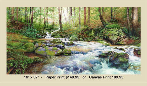 """Summer Cascades"" Jones Creek"