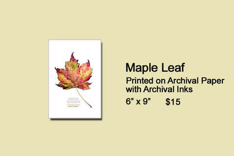 Maple Leaf Artwork