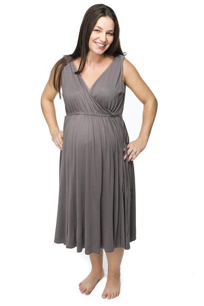 Labour Dress - Onesize- Grey