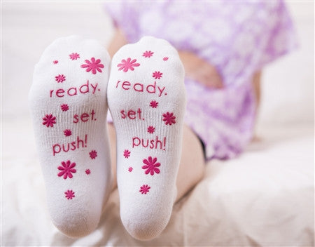 Labour Socks, Pink Wording