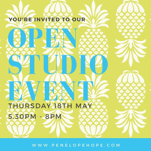 Open Studio Event 18th May 2017