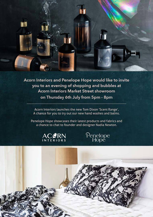 Guernsey Event | Shopping & Bubbles at Acorn Interiors with Penelope Hope