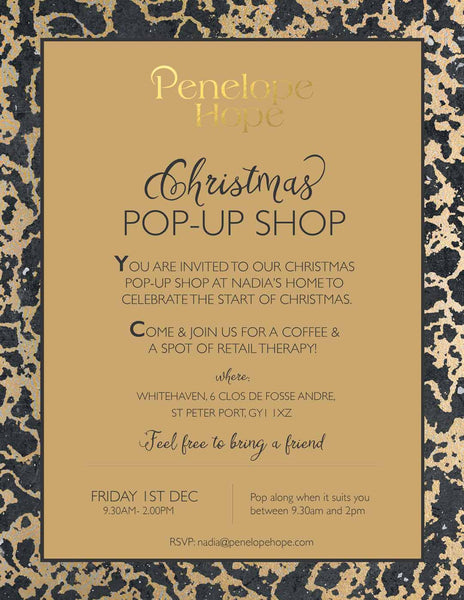 Penelope Hope Christmas Pop-Up Shop