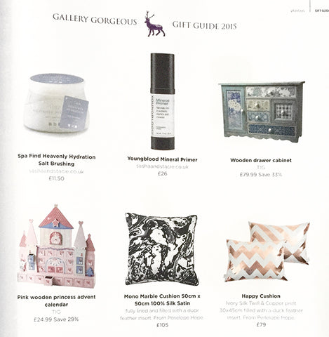 Penelope Hope in Gallery Magazine Gift Guide