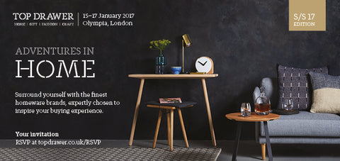 Top Drawer, Olympia Jan 2017 Penelope Hope Stand A19