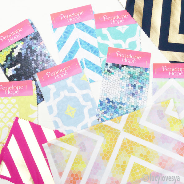 Penelope Hope cotton fabric swatches