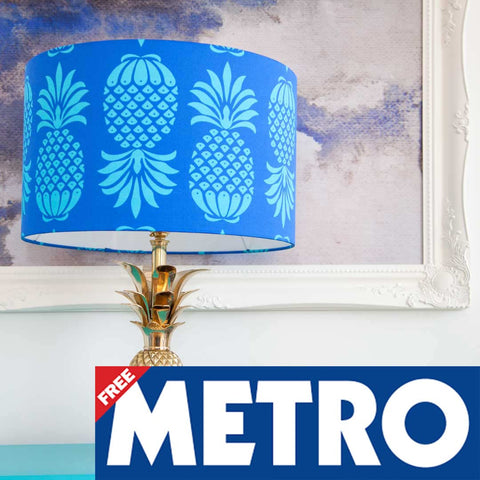 Our Pineapple Lampshade is in the Metro Hot List!