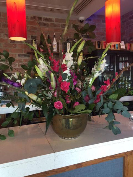 Flowers by Simply Bespoke at Urbanity Charity Event