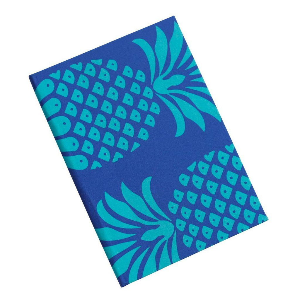 Pineapple Notebook in Blue Mix | Penelope Hope