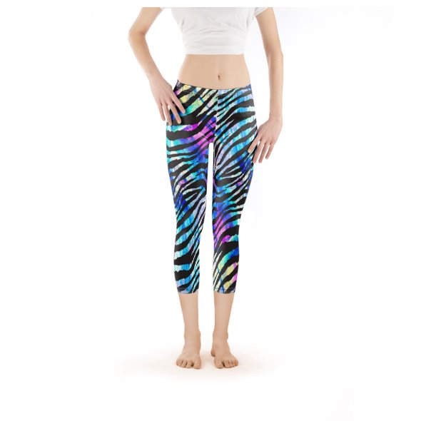Mid-rise Leggings - Capri