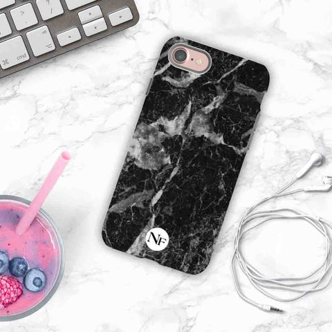 Black Marble Personalised Phone case