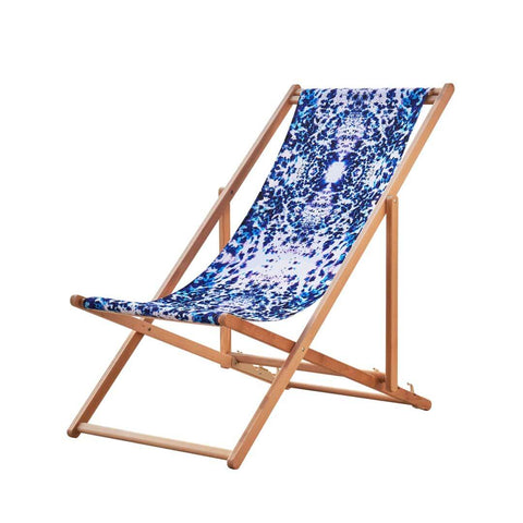 Beach or Garden Mesmerise Deckchair by Penelope Hope
