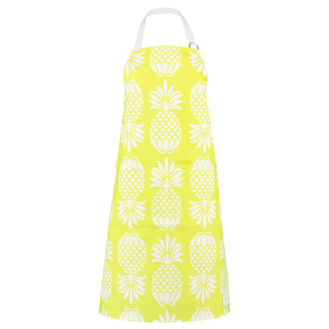 Pineapple Chartreuse Apron by Penelope Hope