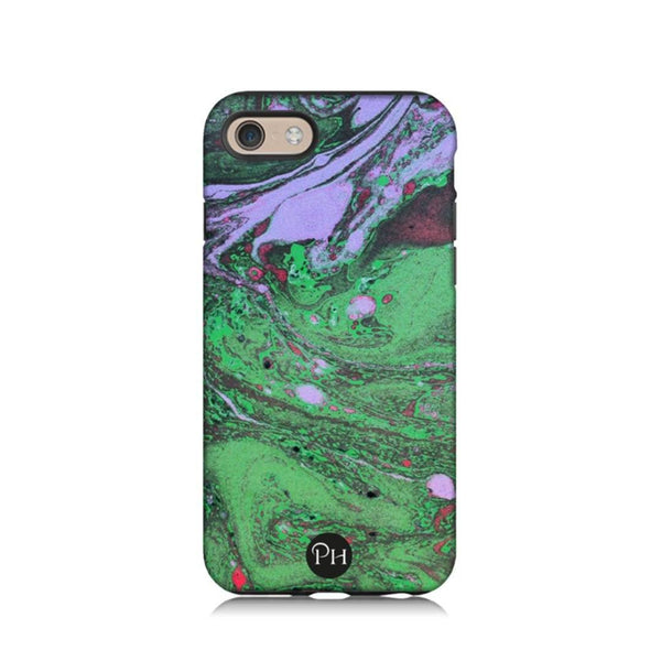 Malachite Marble Phone Case by Penelope Hope