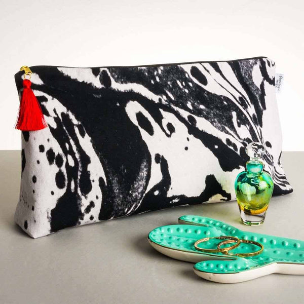 Mono Marble Large Wash Bag | Penelope Hope